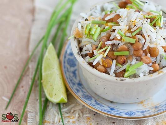 salade-riz-lentilles-herbes